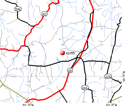Sardis, KY (41055) map