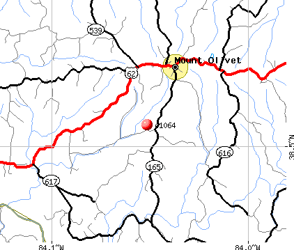 Mount Olivet, KY (41064) map