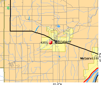 Whitehouse, OH (43571) map