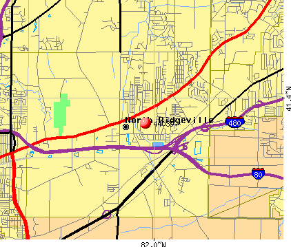 North Ridgeville, OH (44039) map