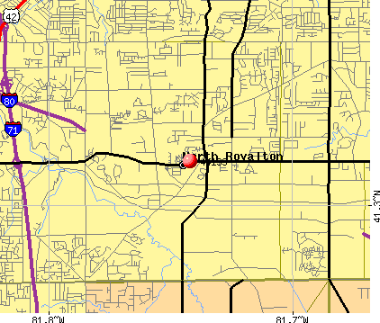 North Royalton, OH (44133) map
