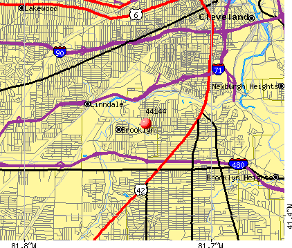 Brooklyn, OH (44144) map