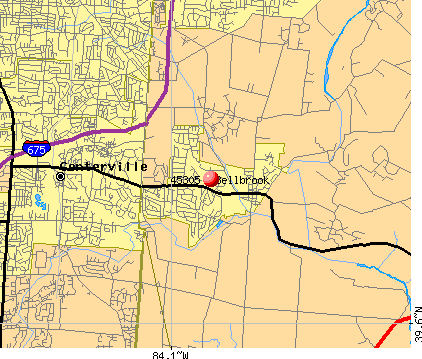 Bellbrook, OH (45305) map