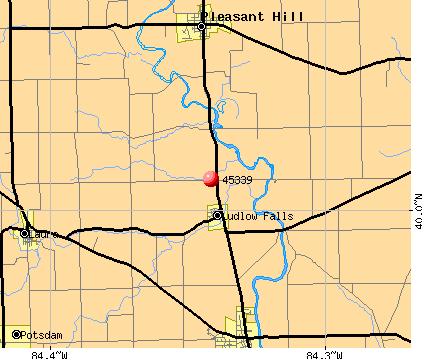 West Milton, OH (45339) map