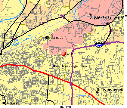 Beavercreek, OH (45431) map