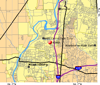 West Carrollton, OH (45449) map