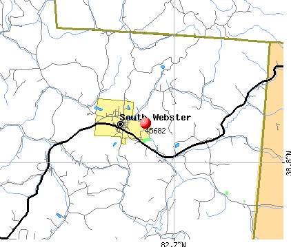 South Webster, OH (45682) map