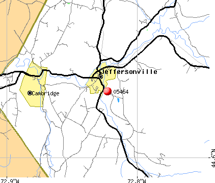 Jeffersonville, VT (05464) map