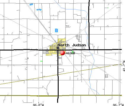 North Judson, IN (46366) map