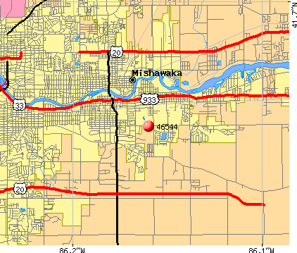 Mishawaka Zip Code Map.46544 Zip Code Mishawaka Indiana Profile Homes Apartments