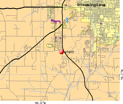 Bloomington, IN (47403) map