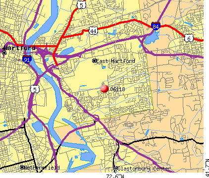 East Hartford, CT (06118) map