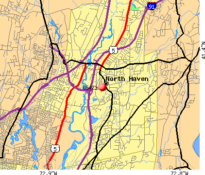 North Haven, CT (06473) map