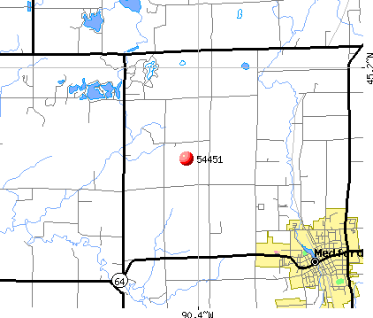 Medford, WI (54451) map