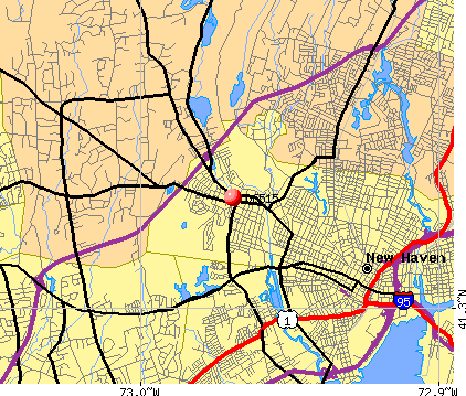 New Haven, CT (06515) map
