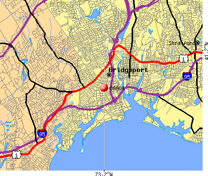 Bridgeport, CT (06604) map