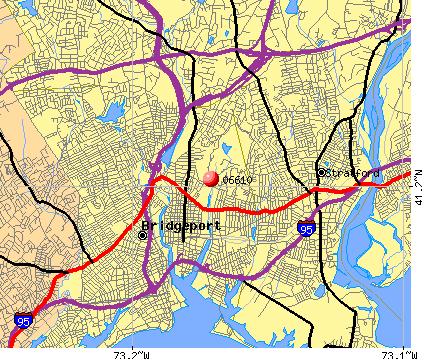 Bridgeport, CT (06610) map