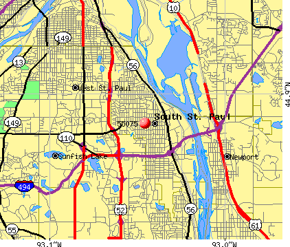 Zip Code Map St Paul Mn.55119 Zip Code Map Mount Mercy University