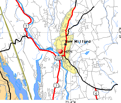 New Milford, CT (06776) map