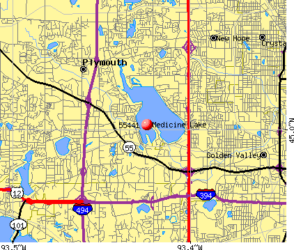 Plymouth, MN (55441) map
