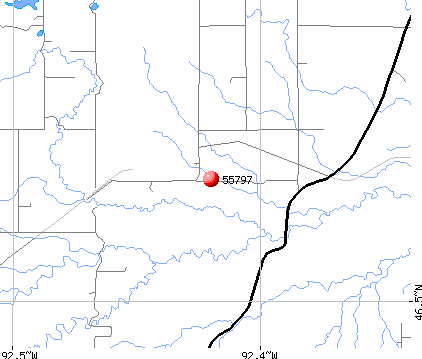 Wrenshall, MN (55797) map