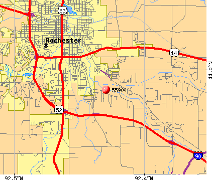 Rochester, MN (55904) map