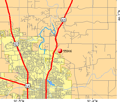 Rochester, MN (55906) map