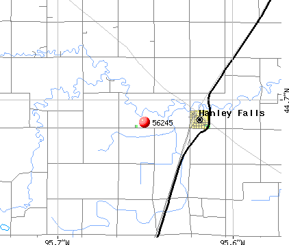 Hanley Falls, MN (56245) map