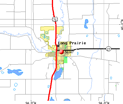 Long Prairie, MN (56347) map