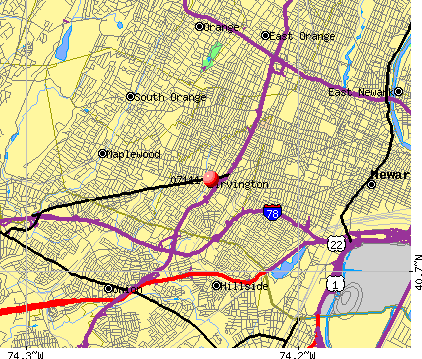 Newark, NJ (07111) map