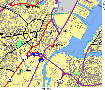 07206 map