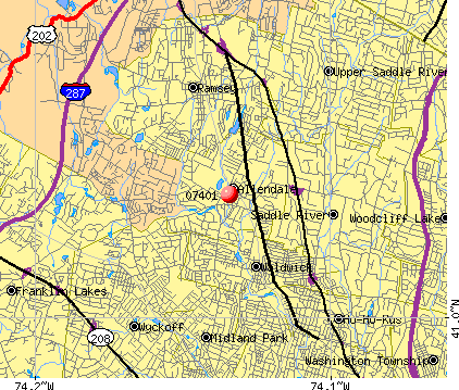 07401 map