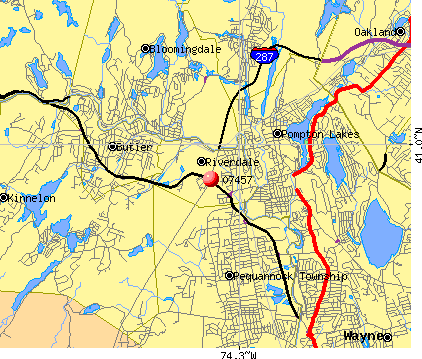07457 map