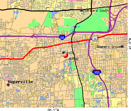 Lisle, IL (60532) map