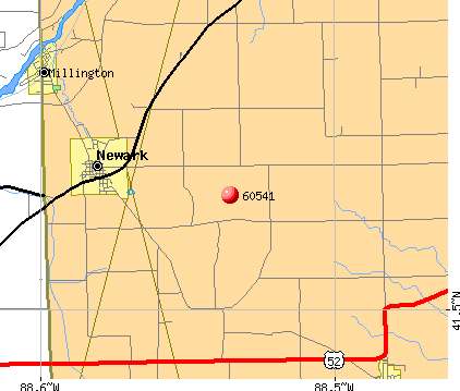 Newark, IL (60541) map