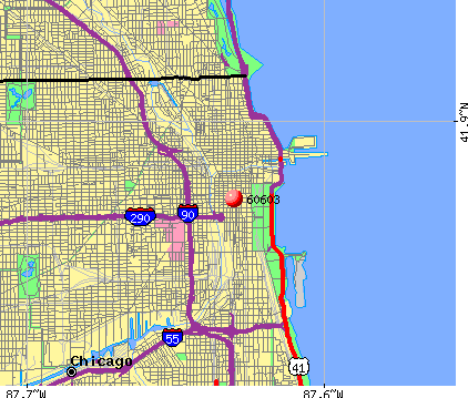Chicago, IL (60603) map