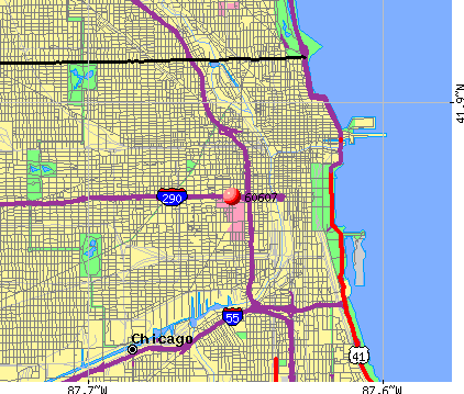 Chicago, IL (60607) map