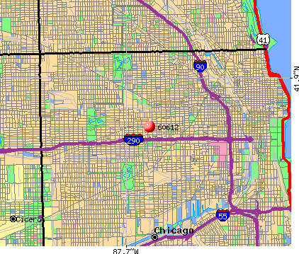 Chicago, IL (60612) map
