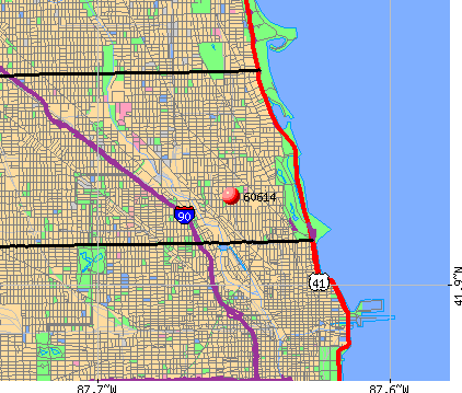 Chicago, IL (60614) map