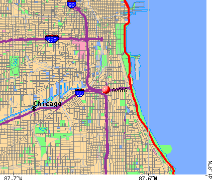 Chicago, IL (60616) map