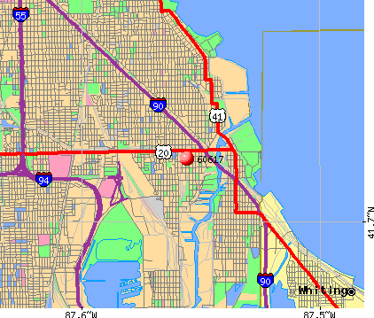 Chicago, IL (60617) map