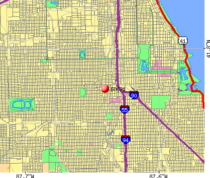 Chicago, IL (60621) map