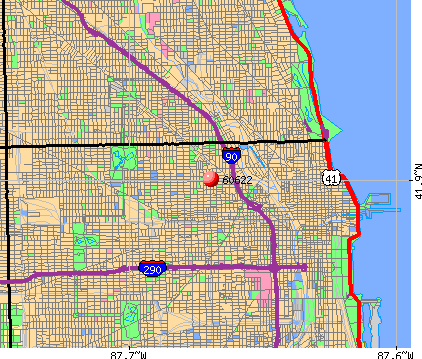 Chicago, IL (60622) map