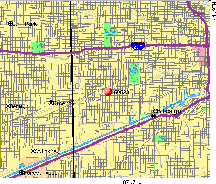 Chicago, IL (60623) map