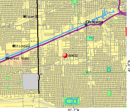 Chicago, IL (60632) map