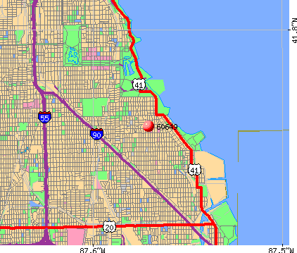 Chicago, IL (60649) map