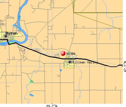 Stillman Valley, IL (61084) map