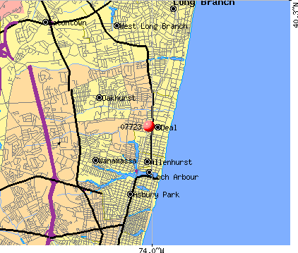 07723 map