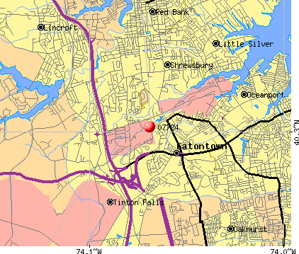 07724 map