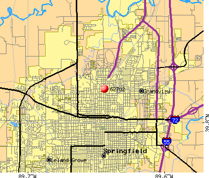 Springfield, IL (62702) map